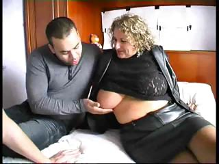 French Busty Mature Woman