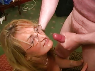British Whore Mother Loves Cum Facials (Crystal 2)