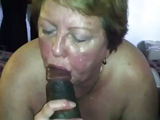 ex gilf wet blowjob